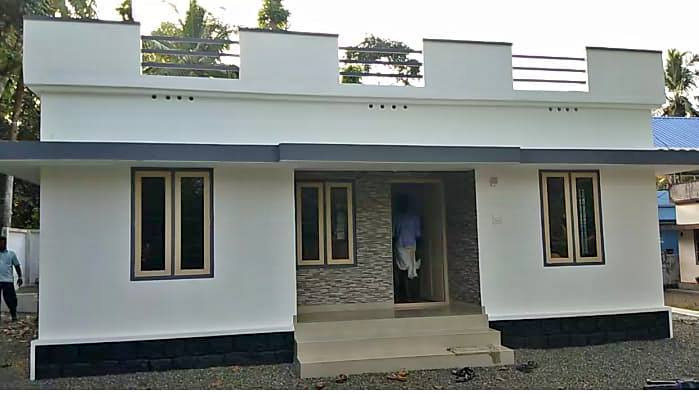 829 Sq Ft 3BHK Simple and Beautiful Single Floor House and Free Plan