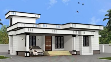 Photo of 900 Sq Ft 2BHK Single Floor Low Budget House and Free Plan