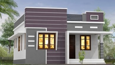 Photo of 940 Sq Ft 2BHK Modern Single Floor House and Free Plan