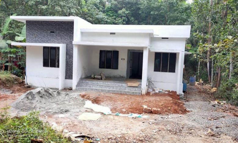 968 Sq Ft 3BHK Modern Single Floor House and Free Plan