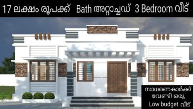 Photo of 1043 Sq Ft 3BHK Modern Single Floor House and Free Plan, 17 Lacks