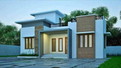 Photo of 1084 Sq Ft 3BHK Single Floor Modern Low Budget House and Free Plan