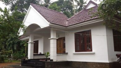 Photo of 1131 Sq Ft 3BHK Traditional Style Single Floor House and Free Plan