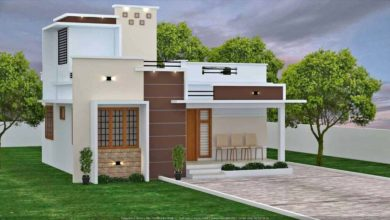 Photo of 1145 Sq Ft 3BHK Beautiful Single-Storey House and Free Plan