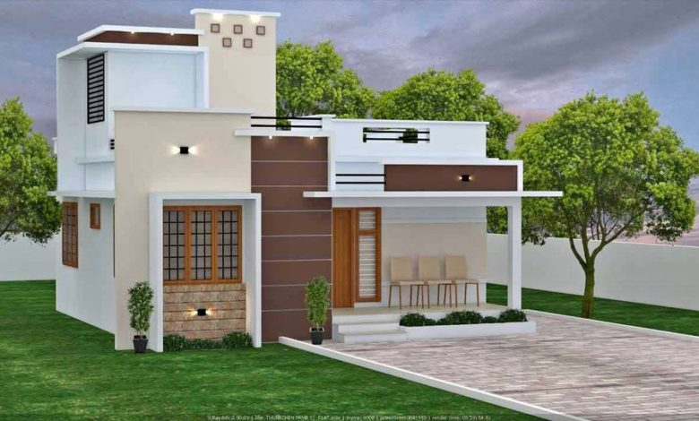 1145 Sq Ft 3BHK Beautiful Single-Storey House and Free Plan