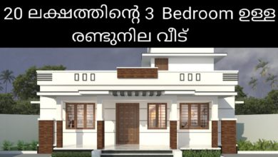 Photo of 1194 Sq Ft 3BHK Modern Beautiful Single-Storey House and Free Plan, 20 Lacks