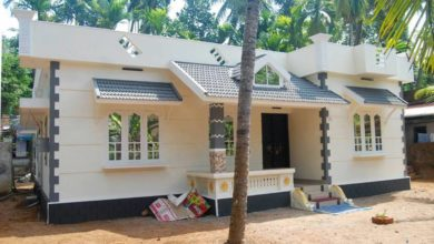 Photo of 1300 Sq Ft 3BHK Single-Storey Low Budget House and Free Plan