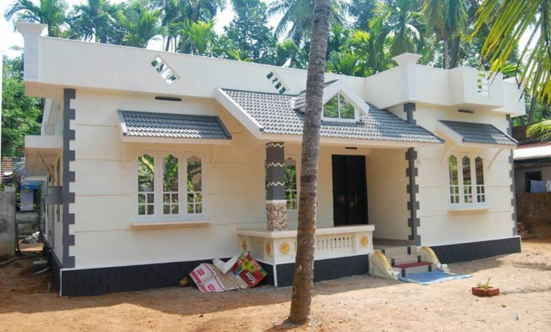 1300 Sq Ft 3BHK Single-Storey Low Budget House and Free Plan