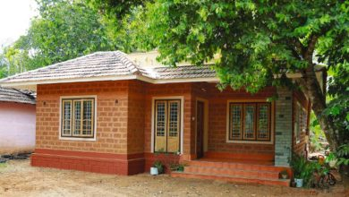 Photo of 1350 Sq Ft 2BHK Kerala Style Single Floor House and Free Plan, 14 Lacks