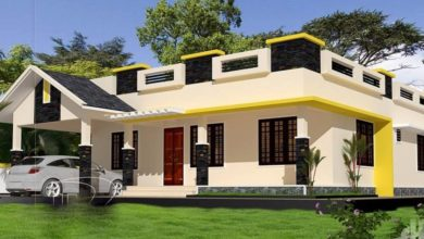 Photo of 1357 Sq Ft 3BHK Beautiful Single Floor House and Free Plan