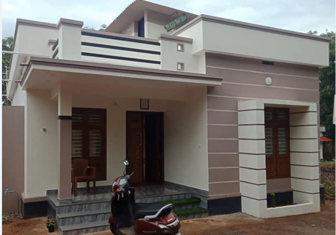 2 Bedroom Modern Single Floor Low Budget House and Free Plan