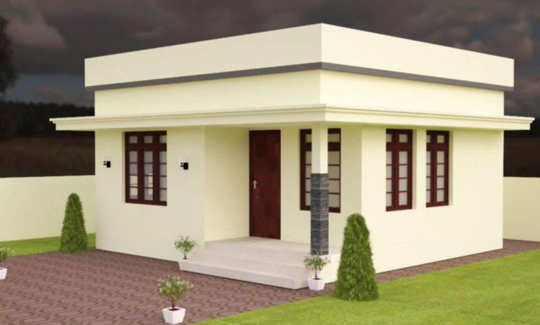 420 Sq Ft 2BHK Modern Single Floor Low Budget House and Free Plan