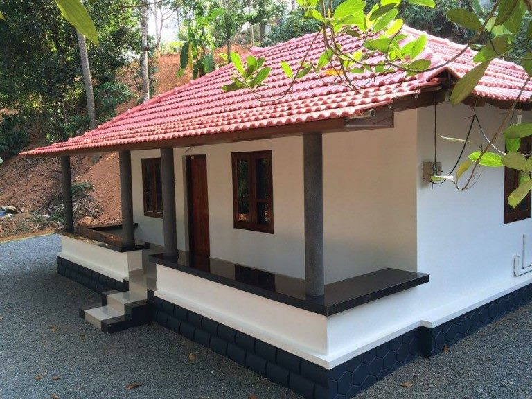 550 Sq Ft 2BHK Traditional Kerala Style Beautiful House and Free Plan