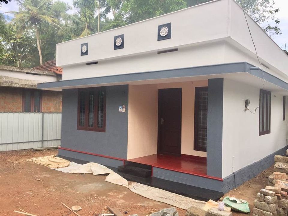 650 Sq Ft 2BHK Simple and Low Budget House and Free Plan