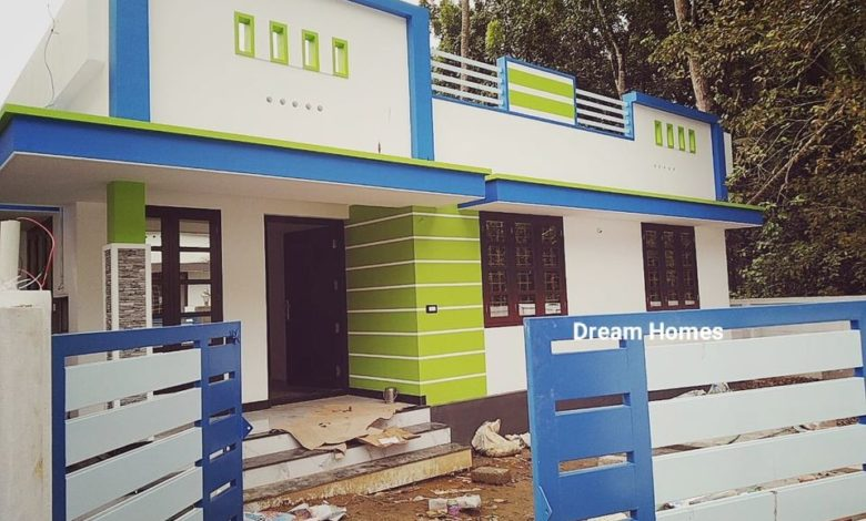 750 Sq Ft 2BHK Beautiful Single-Storey House and Free Plan