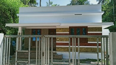 Photo of 750 Sq Ft 2BHK Modern Single Floor Low Budget House and Free Plan, 10 Lacks