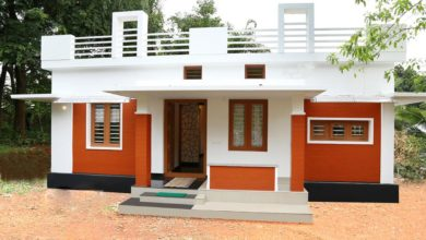 Photo of 750 Sq Ft 2BHK Modern Single Floor Low Budget House and Free Plan