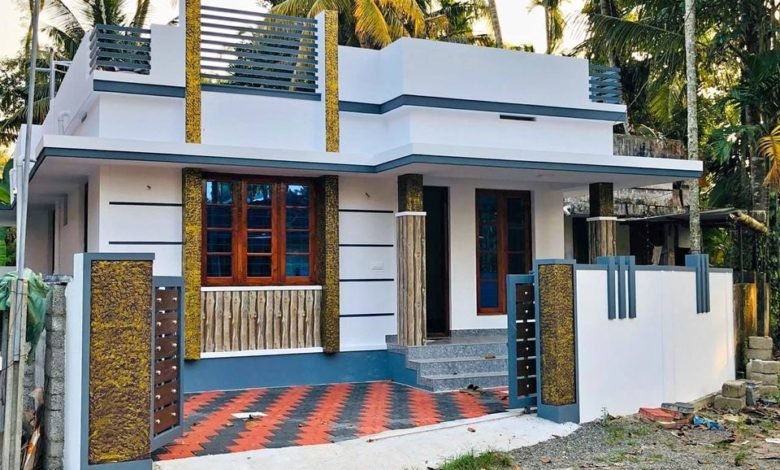 750 Sq Ft 2bhk Modern Single Floor House and Free Plan