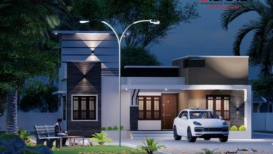 Photo of 786 Sq Ft 2BHK Modern House at 5 Cent Plot, Free Plan, 12 Lacks