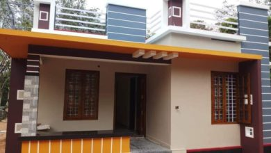 Photo of 800 Sq Ft 2BHK Beautiful Single-Storey House and Free Plan
