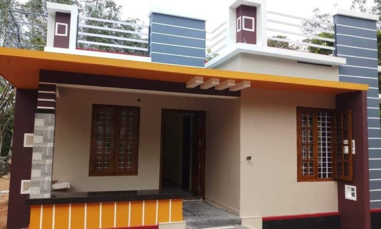 800 Sq Ft 2BHK Beautiful Single-Storey House and Free Plan