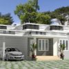 850 Sq Ft 2BHK Modern Single Floor House and Free Plan