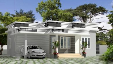 Photo of 850 Sq Ft 2BHK Modern Single Floor House and Free Plan