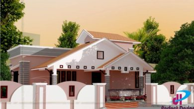 Photo of 935 Sq Ft 2BHK Traditional Style Single Floor House and Free Plan