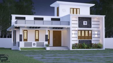 Photo of 990 Sq Ft 2BHK Modern and Beautiful House and Free Plan