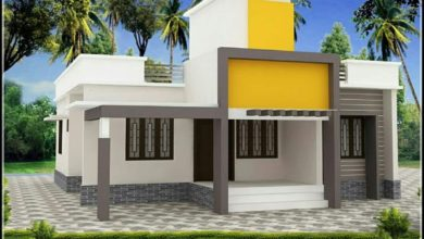 Photo of 1027 Sq Ft 3BHK Modern Single Floor House and Free Plan