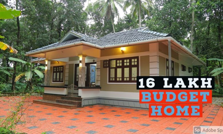 1100 Sq Ft 2BHK Traditional Style Single Floor House, 16 Lacks