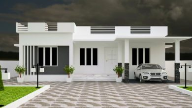 Photo of 1203 Sq Ft 3BHK Flat Roof Single-Storey House and Free Plan, 18 Lacks