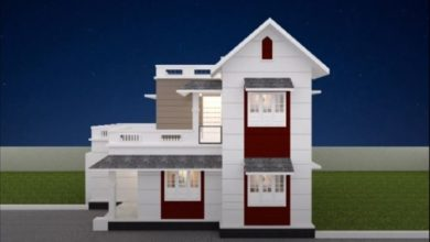 Photo of 1238 Sq Ft 4BHK Modern and Beautiful Double Floor House and Free Plan