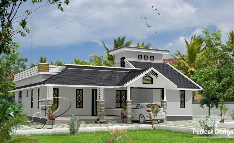 1398 Sq Ft 3BHK Traditional Style Single Floor House and Free Plan