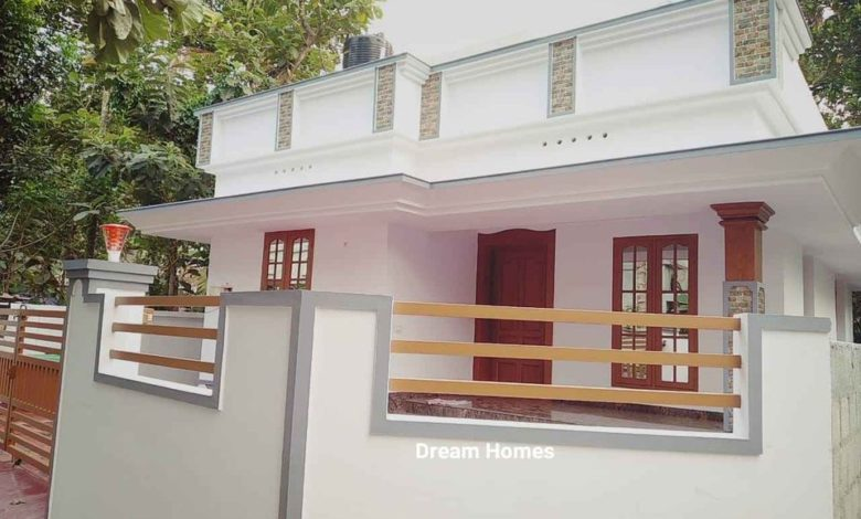 650 Sq Ft 2BHK Single Floor Modern House and Free Plan