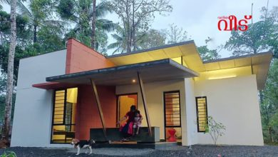 Photo of 710 Sq Ft 2BHK Contemporary Style Single Floor House and Free Plan, 7 Lacks