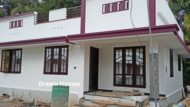 Photo of 725 Sq Ft 2BHK Beautiful Single Floor Low Budget House and Free Plan