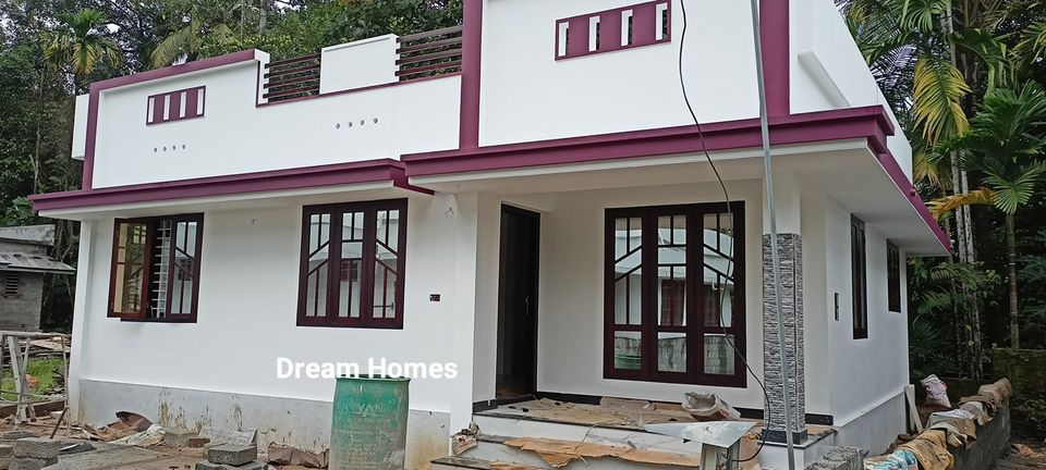 725 Sq Ft 2BHK Beautiful Single Floor Low Budget House and Free Plan
