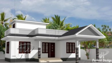 Photo of 734 Sq Ft 2BHK Traditional Style 2BHK House and Free Plan