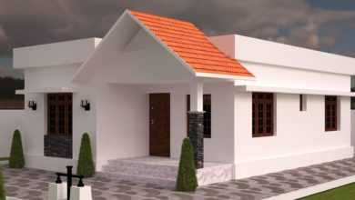 Photo of 820 Sq Ft 2BHK Traditional Style Single Floor House and Free Plan