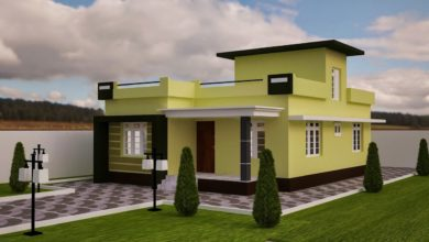 Photo of 1102 Sq Ft 2BHK Modern Single Floor House and Free Plan