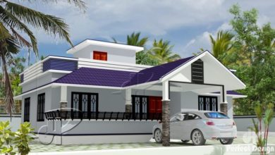 Photo of 1194 Sq Ft 3BHK Traditional-Modern Single Floor House and Free Plan