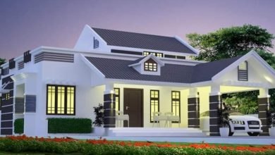 Photo of 1480 Sq Ft 2BHK Colonial Style Single-Storey House and Free Plan