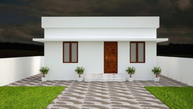 Photo of 264 Sq Ft 1BHK Modern Single Floor Low Budget House and Free Plan