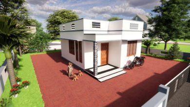 Photo of 550 Sq Ft 2BHK Modern Low Budget House and Free Plan, 5 Lacks