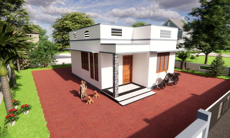 550 Sq Ft 2BHK Modern Low Budget House and Free Plan, 5 Lacks