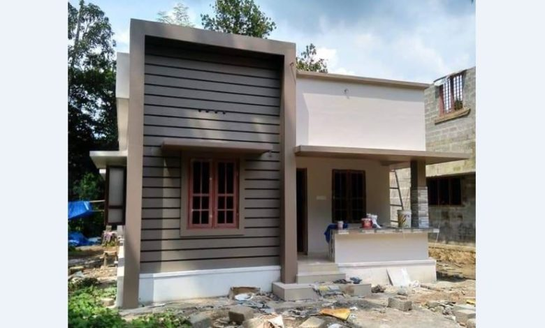 560 Sq Ft 2BHK Modern and Simple House and Free Plan, Below 10 Lacks