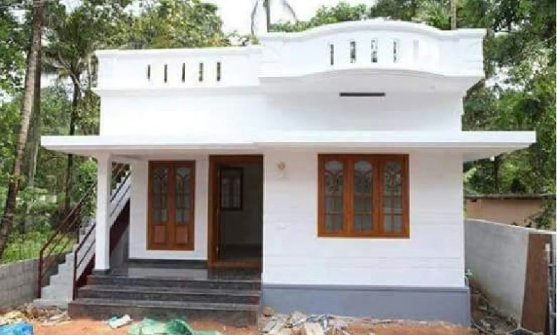 650 Sq Ft 2BHK Beautiful Single Floor House and Free Plan, 10 Lacks