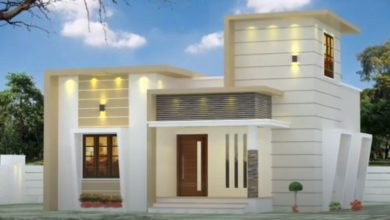 Photo of 750 Sq Ft 2BHK Modern Single Floor House and Free Plan, 12 Lacks