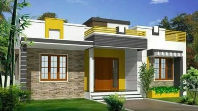 Photo of 832 Sq Ft 2BHK Modern Single Floor House and Free Plan, 13 Lacks